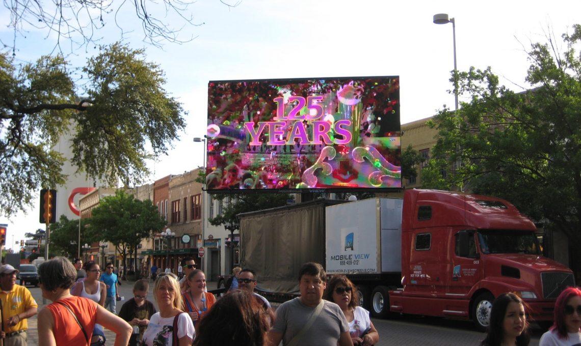 Outdoor video screens