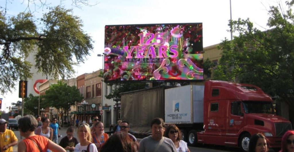 Outdoor video screens