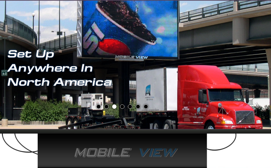 Mobile LED Billboard